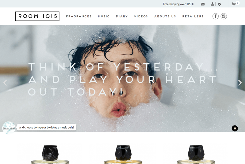 Room 1015 - Site e-commerce responsive Prestashop